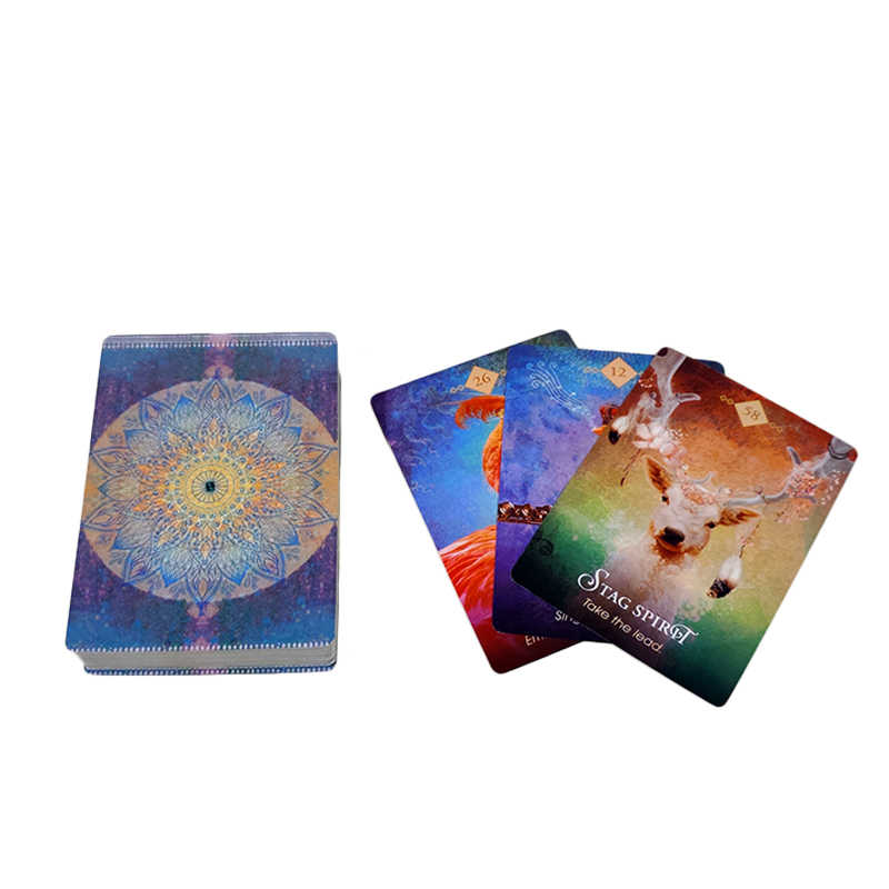 The Spirit Animal Oracle Cards - Free Shipping - 52 Wonders Playing Cards Spielkarten Bicycle Fontaine Anyone Orbit Butterfly