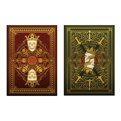 Thorn & Roses Playing Cards Set - 52 Wonders Playing Cards Spielkarten Bicycle Fontaine Anyone Orbit Butterfly