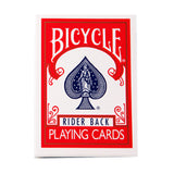Bicycle Playing Cards - Rider Back - Red