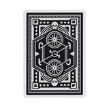 Wheels Playing Cards - Black