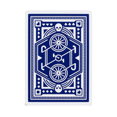 Wheels Playing Cards - Blue