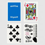Blue Logo Playing Cards