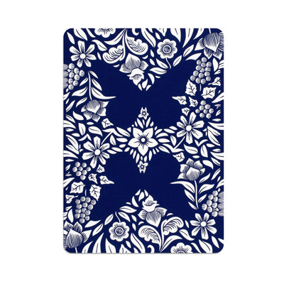 Butterfly Playing Cards - Refill Blue
