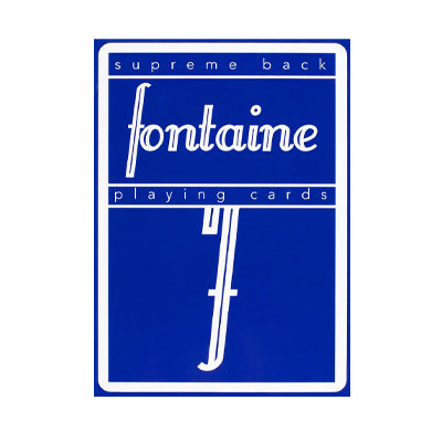 Fontaine Playing Cards - Blue