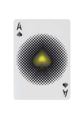 Illusion d' Optique Playing Cards - 52 Wonders Playing Cards Spielkarten Bicycle Fontaine Anyone Orbit Butterfly