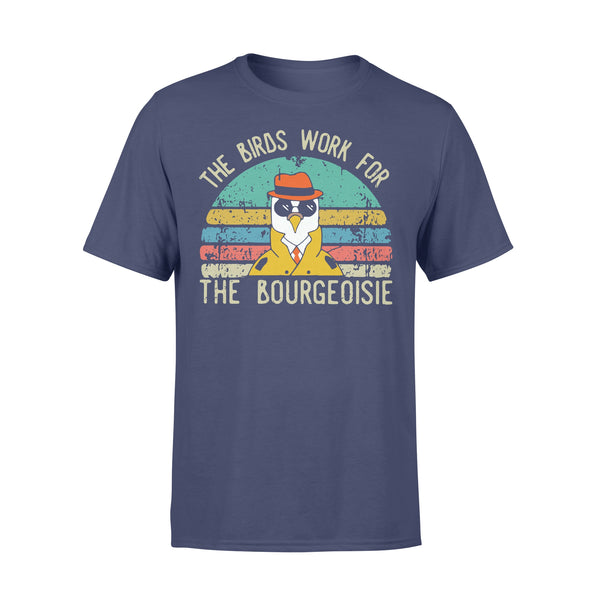 The Birds Work For The Bourgeoisie Vintage T-shirt M - Piscentlit Stores