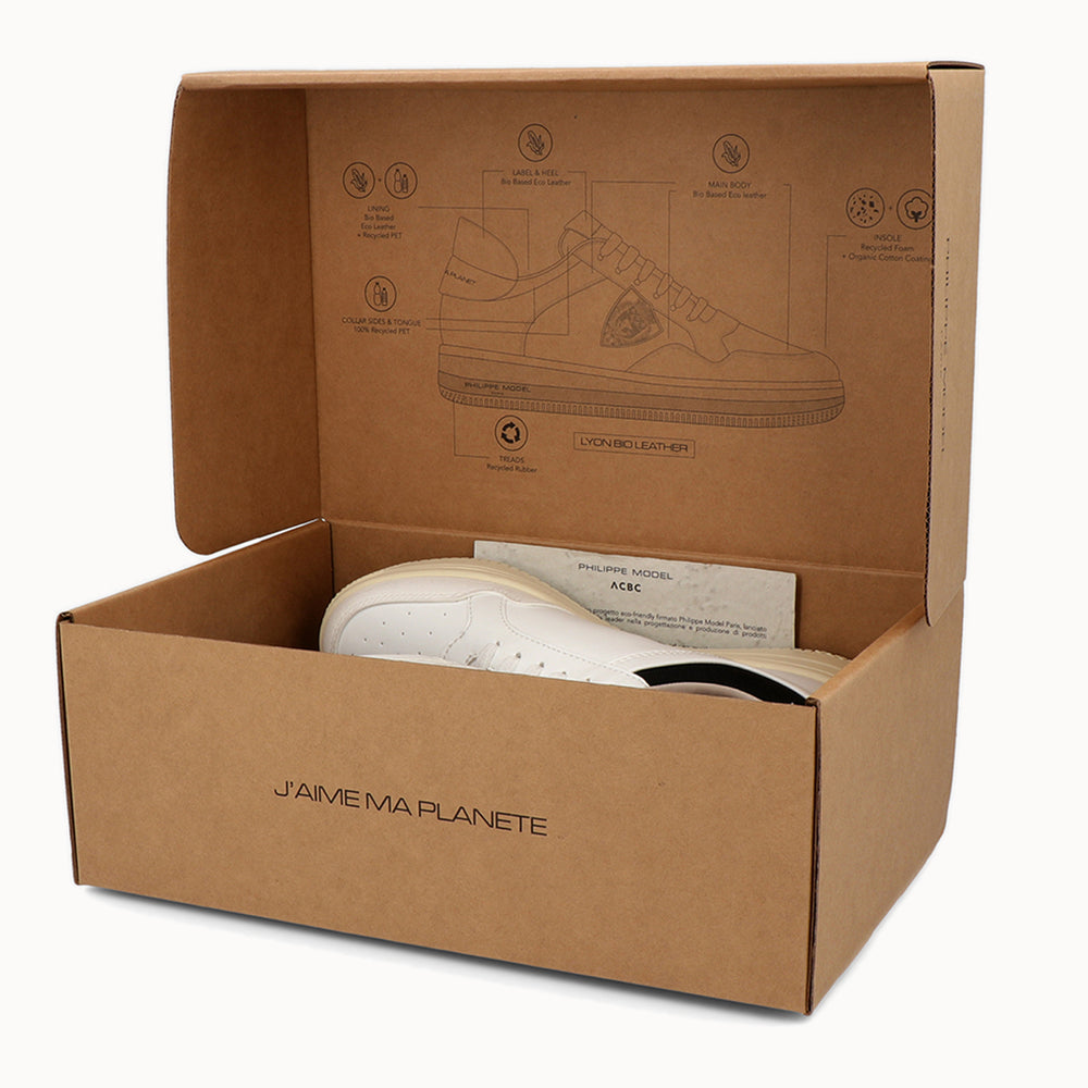 Load image into Gallery viewer, packaging 100% recycled cardboard -ACBC and Philippe Model Shoes