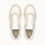 Philippe Model Lyon White and Beige GOTS Cotton - ACBC Sustainable Shoes