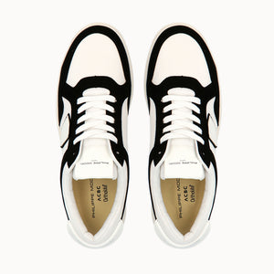 Load image into Gallery viewer, Philippe Model Lyon White&Black GOTS Cotton with  ACBC Sustainable Shoes