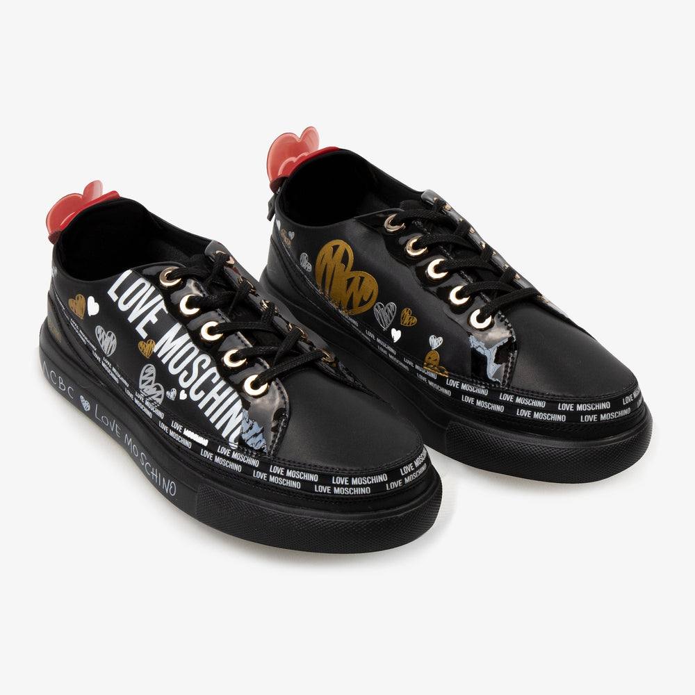 Load image into Gallery viewer, ACBC x LoveMoschino Sneaker Black