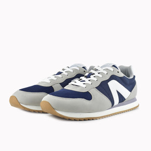 Load image into Gallery viewer, Color grey and blue with white details - ACBC Sustainable Shoes