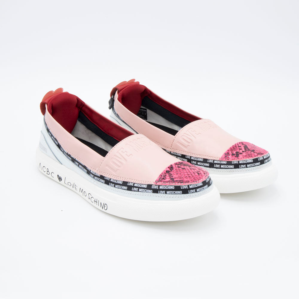Load image into Gallery viewer, sustainable women's shoes - Love Moschino - espadrilla rose