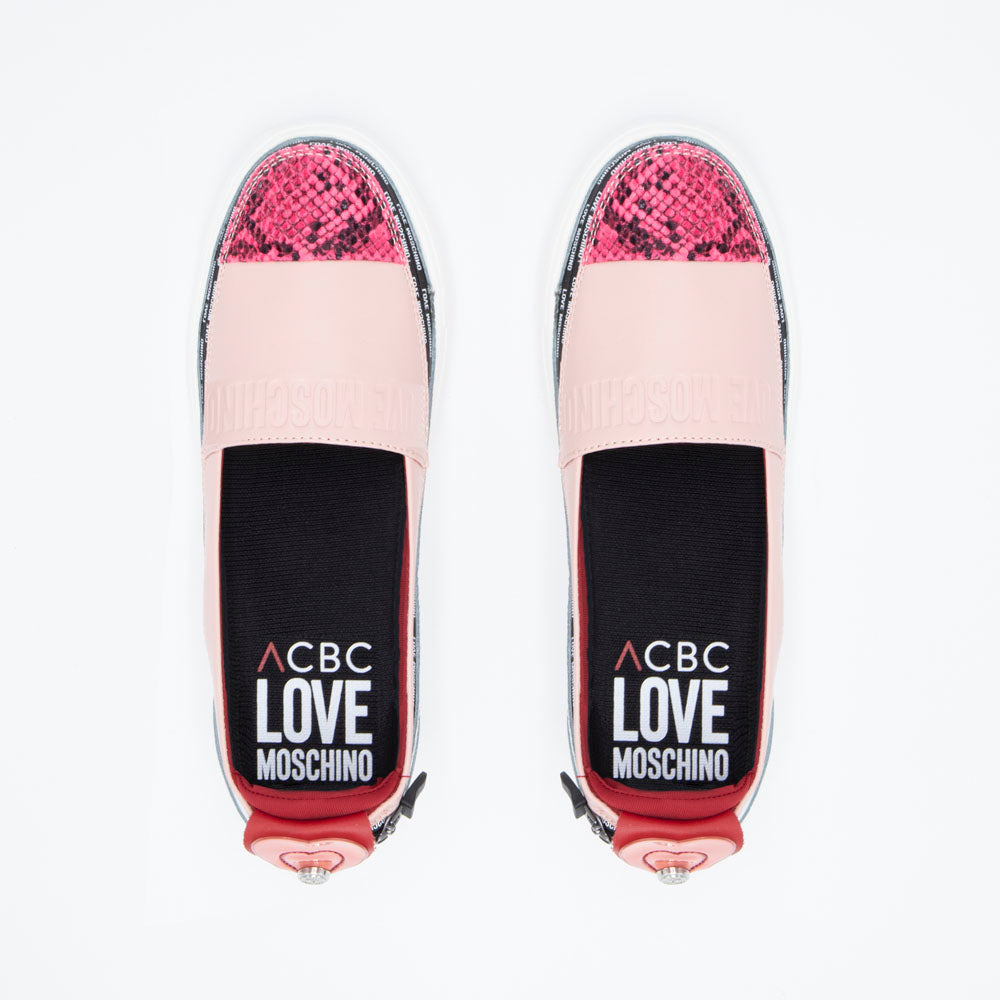 Load image into Gallery viewer, sustainable women's shoes - Love Moschino - espadrilla
