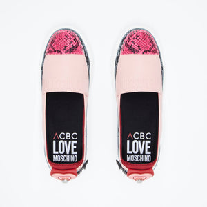 Load image into Gallery viewer, Love Moschino Pink color - ACBC Zip Shoes
