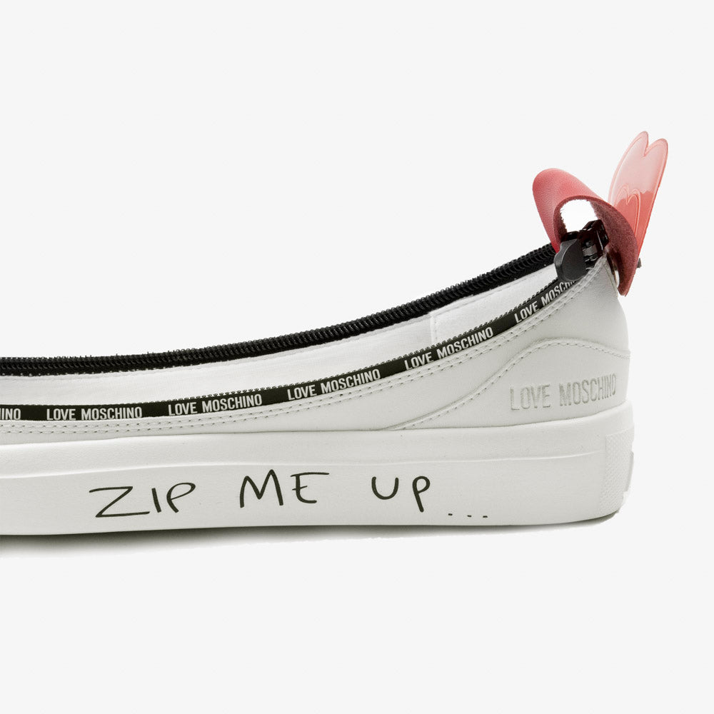 Load image into Gallery viewer, Written Zip me up - ACBC Zip Shoes