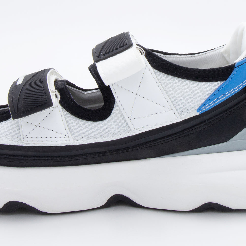 Load image into Gallery viewer, Skin Sandal White Blue