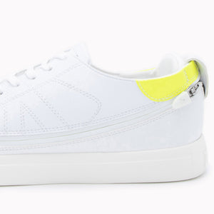 Load image into Gallery viewer, Urban White + Tennis Court White & Acid Yellow