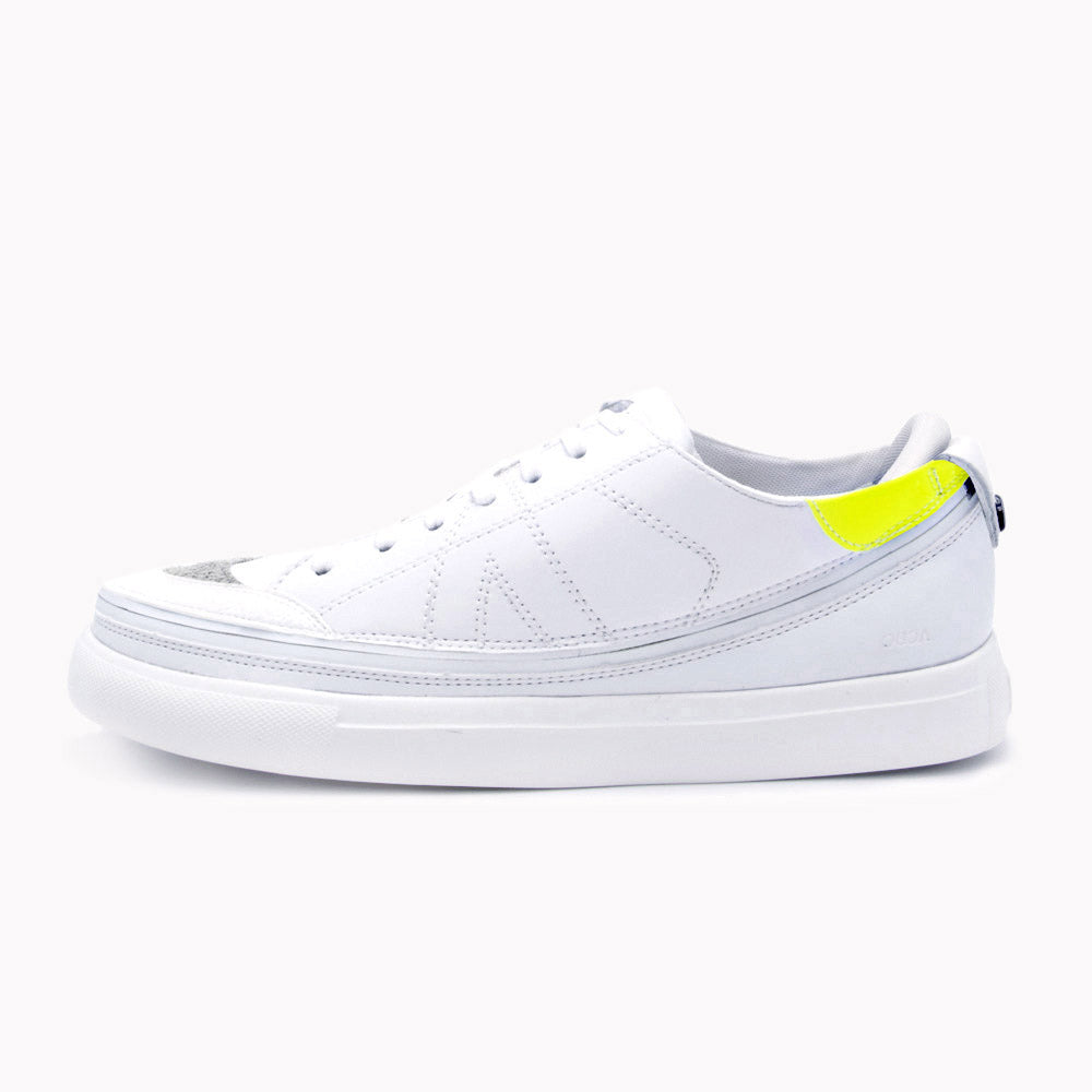 Urban White + Tennis Court White & Acid Yellow