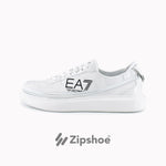 EA7 White Zip Sneakers
