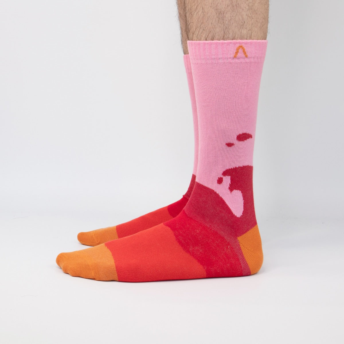 ACBC Socks Wave Pink