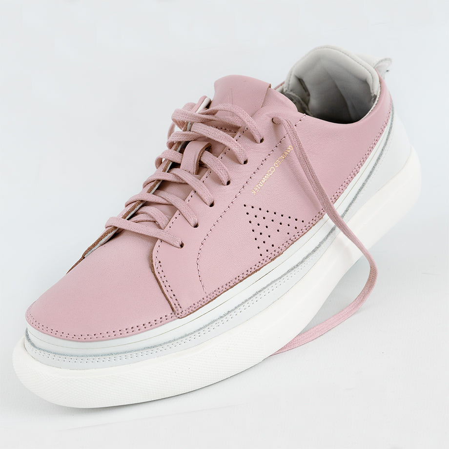 Load image into Gallery viewer, Urban Bianca + Sneaker Rosa