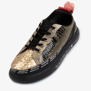 Load image into Gallery viewer, Vegan leather upper - ACBC Zipshoes
