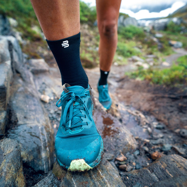 Run Ultralight Mid Cut Socks