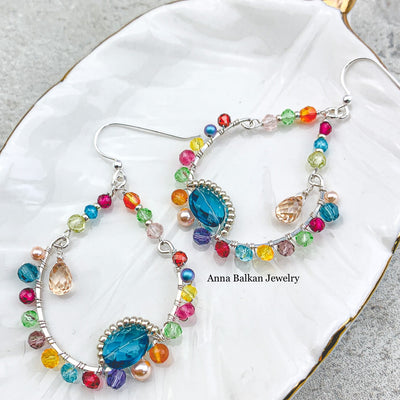 Colorful Solar Hoops