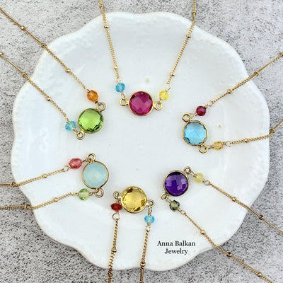 Ally Small Layering Everyday Fun Necklace - Anna Balkan