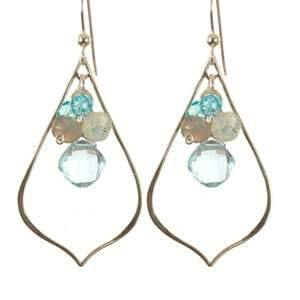 Oria Petal Earrings - Anna Balkan
