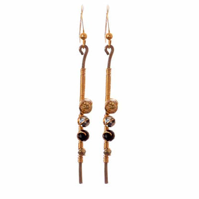 New Eve Style Earrings Mixed Metal - Anna Balkan