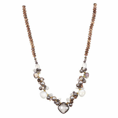 Regina Statement Necklace-Anna Balkan