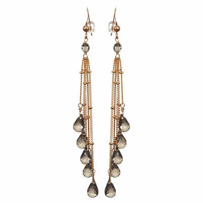 Rain Five Strand Earrings - Anna Balkan
