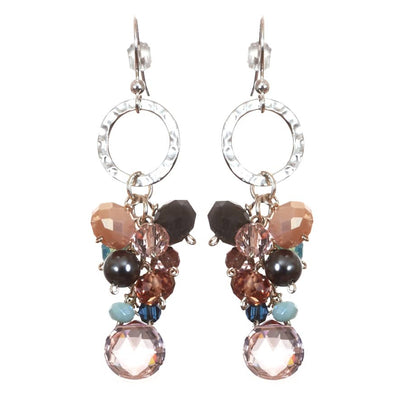 Playful Gems Dangle Earrings-Anna Balkan