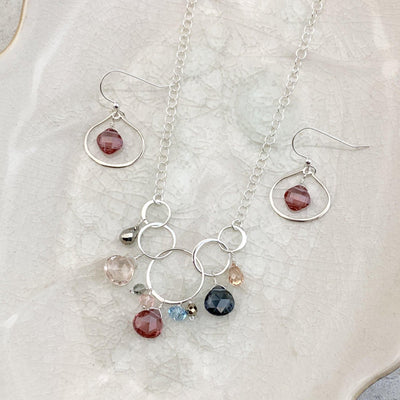 Perfectly Styled Bohemian Rose Jewelry Set - Anna Balkan