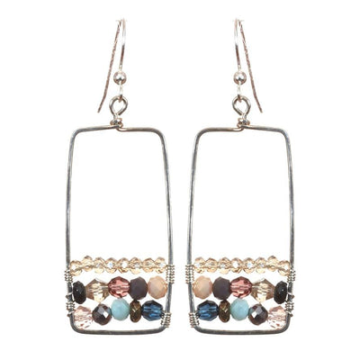 Boho Statement Earrings-Anna Balkan