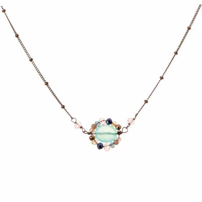 New Erica Style Necklace Oxidized-Anna Balkan