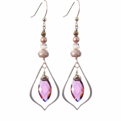 Julie Marquee Cage Earrings-Anna Balkan