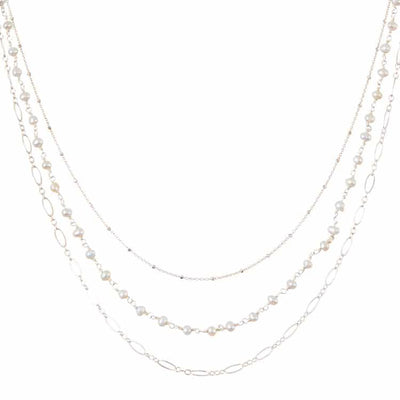 Isabella Three Tier Necklace - Anna Balkan
