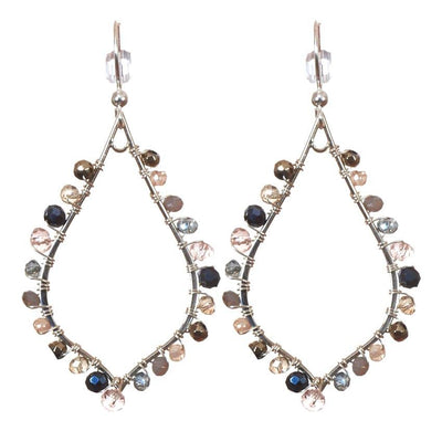 Madison Gemstone Earrings-Anna Balkan