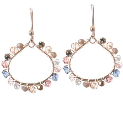 Lily Mini Petal Hoop Earrings - Anna Balkan