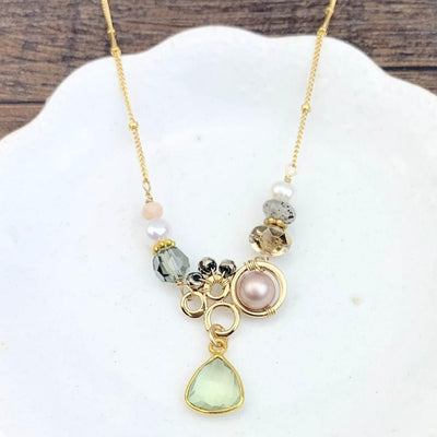 Aria Small Bubble Necklace - Anna Balkan