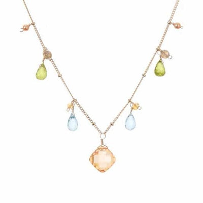 Zina Classic Necklace-Anna Balkan