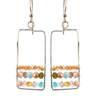 Boho Hoops Statement Earrings-Anna Balkan