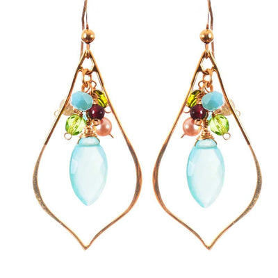Julie Marquee Cage Earrings - Anna Balkan
