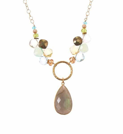 Charlotte Pear Necklace - Anna Balkan
