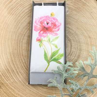 peony two wick candle