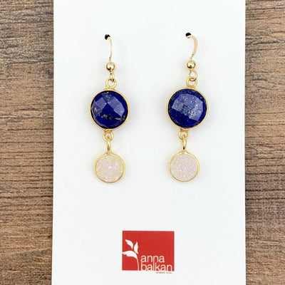 Classic Elegance Earrings-Anna Balkan