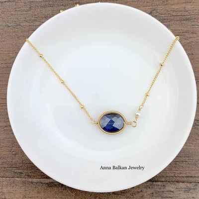 Erica Oval Layering Necklace-Anna Balkan