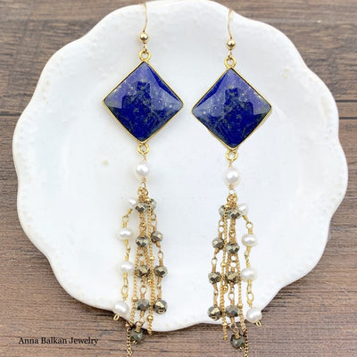 Statement Chandelier Earrings - Anna Balkan